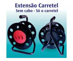 Extensão Carretel com 3 Tomadas Vazio Suporta até 40 metros - Imagem 5/6