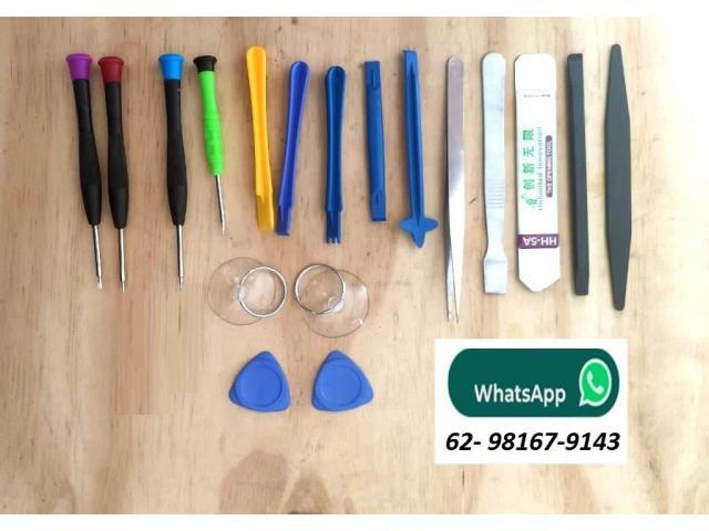 Jogo de Chave de Precisão Iphone Kit com 18pcs - Ventosa, Espátula, Palheta, Chaves, Pinça - 2/6