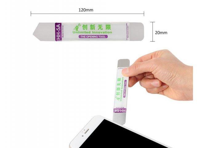 Jogo de Chave de Precisão Iphone Kit com 18pcs - Ventosa, Espátula, Palheta, Chaves, Pinça - 3/6