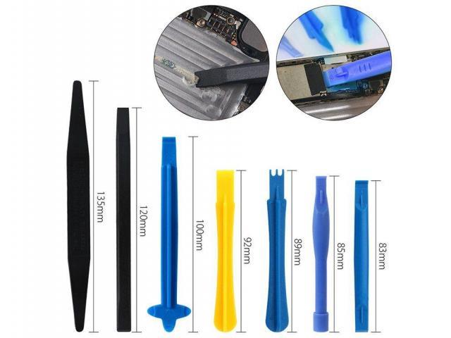 Jogo de Chave de Precisão Iphone Kit com 18pcs - Ventosa, Espátula, Palheta, Chaves, Pinça - 4/6
