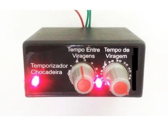 Temporizador Controlador de Tempo Viragem De Ovos P/ Chocadeira - 1/3