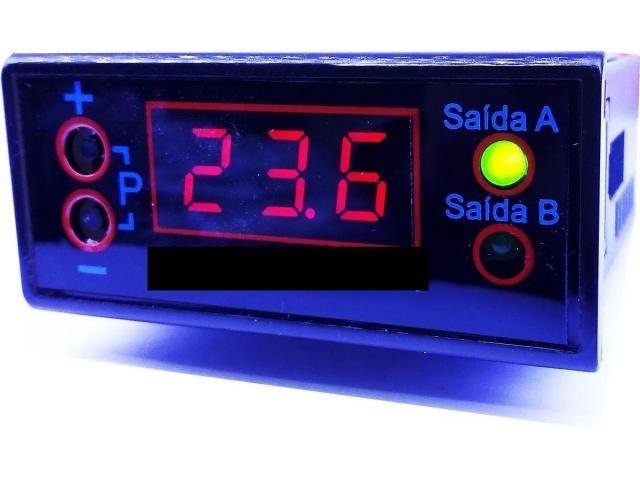 Termostato Chocadeira Com Sensor Digital Saida Viragem - 1/4