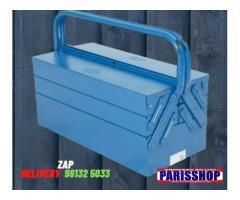 Caixa de Ferramentas Sanfonada 5 Gavetas 50cm de Metal 51x21x21