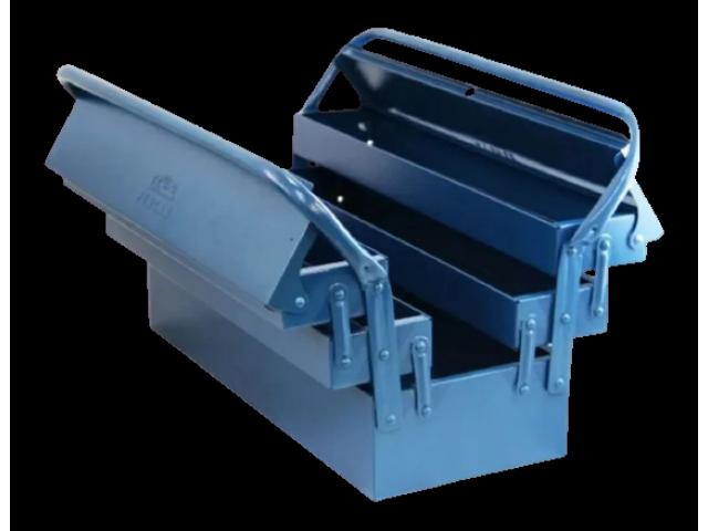 Caixa de Ferramentas Sanfonada 5 Gavetas 50cm de Metal 51x21x21 - 2/4