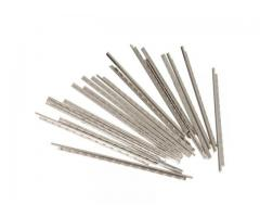 kit de Traste Níquel Prata 60 mm x 2.4 mm 24 peças