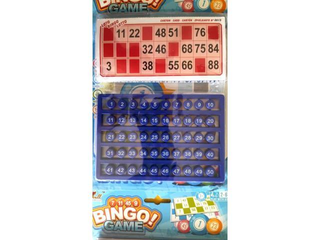 Jogo de Bingo Brinquedo Criança Diversão - 3/3