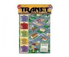 Jogo de Tabuleiro TRANSIT de 2 a 4 Jogadores Papel