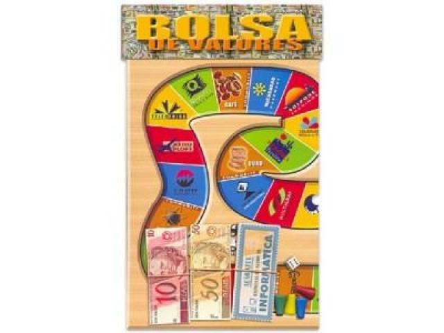 Jogo de Tabuleiro BOLSA DE VALORES  de 2 a 4 Jogadores Educativo - 2/3