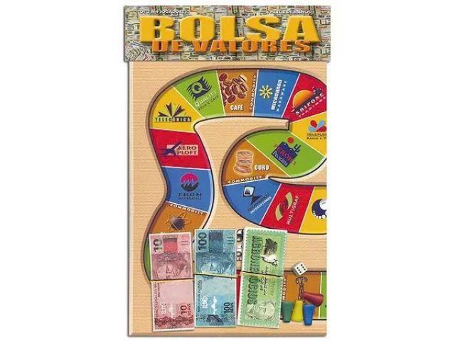 Jogo de Tabuleiro BOLSA DE VALORES  de 2 a 4 Jogadores Educativo - 3/3