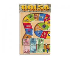 Jogo de Tabuleiro BOLSA DE VALORES  de 2 a 4 Jogadores Educativo