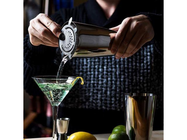 Coqueteleira Estilo Boston Drinks Inox 600ml - 3/5