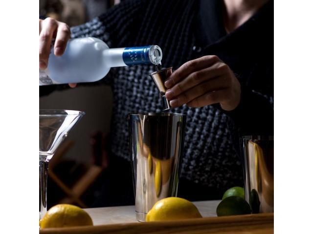Coqueteleira Estilo Boston Drinks Inox 600ml - 4/5