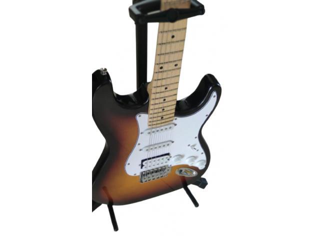 Suporte de Chão para Violão Guitarra Contrabaixo - 2/5