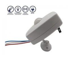 Sensor de Presença para Iluminação Bivolt + Fotocélula Cftv Portão Garagem etc