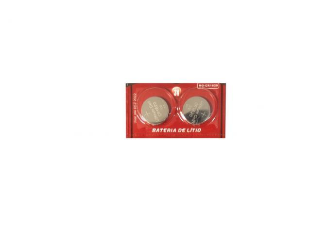 Bateria Pilha Chave Controle de Carro Versa etc Litio Cr1620 - 1/5