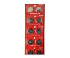 Bateria Pilha Chave Controle de Carro Versa etc Litio Cr1620