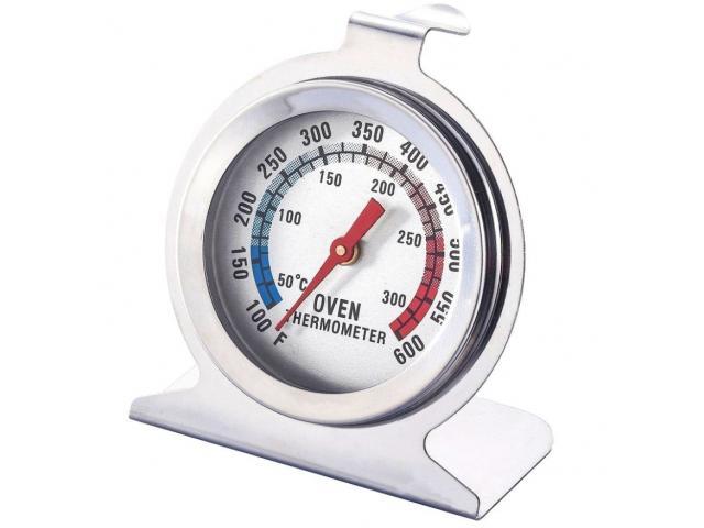 Termômetro para Forno e Churrasqueira Aço Inox - 4/4