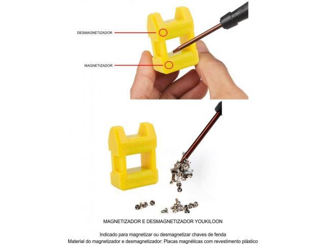 Magnetizador e Desmagnetizador para Chaves - 1/5