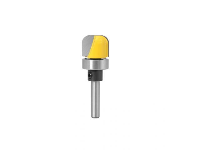 Fresa Dupla Rebaixo e Refilamento Com Rolamento Haste 6mm - 2/2