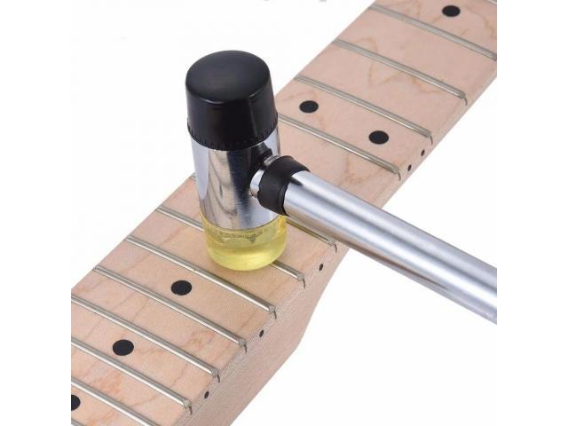 Martelo Com Cabeça Dupla Pontas Substituíveis Luthier - 1/4