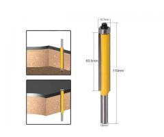 Fresa Refiladora Haste de 8mm com Rolamento - Corte de 63mm