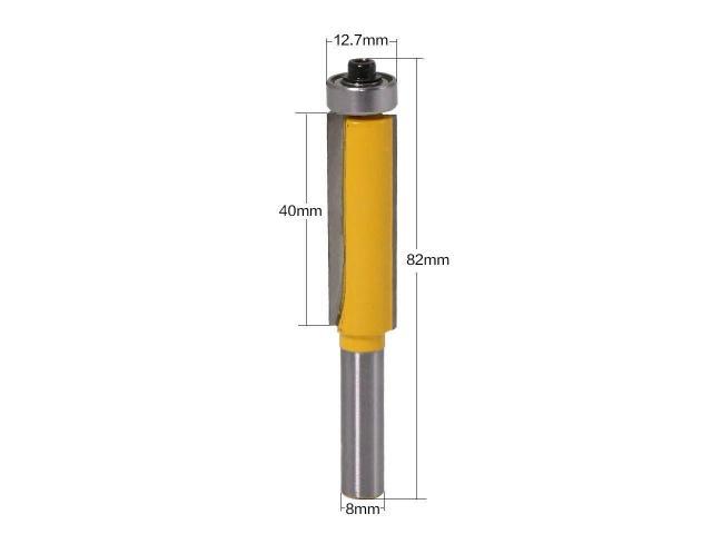 Fresa Refiladora Madeira Mdf Haste de 8mm Corte Aprox. 52mm - 1/1
