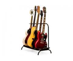 Suporte de Chão Estante para 5 Instrumentos - Violão, Contrabaixo, Guitarra