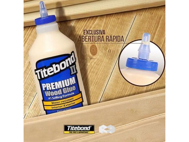 Cola Titebond Luthier Marceneiro 2 Premium Glue 516gr Made in Eua - 1/5