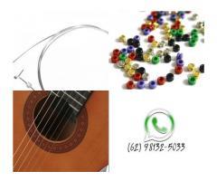 Jogo de Corda de Nylon para Violão Elétrico Acústico com Bolinha