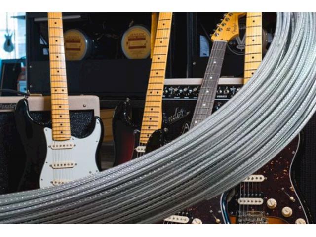 Traste Jumbo Inox Para Guitarra Baixo Violão 27HS 300HV O Metro - 1/6