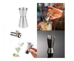 Medidor Dosador Duplo Inox 45ml/25ml - Bebidas Drinks Barman Bartender
