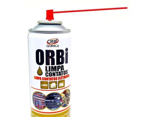 Limpa Contato Elétrico Spray Eletrônico 300ml Orbi - 4/6