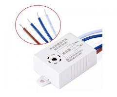 Interruptor de lampada Sensor de Som e Luz Por Voz e Palmas