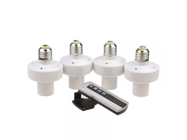 Soquete Wi-fi Para lampada Sem Fio Control Por Controle Remoto - 1/6