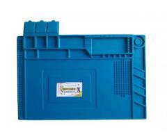 Manta Tapete Anti-Estático 45cm x 30cm com Divisória - Bancada Conserto de Celular - Imagem 3/4
