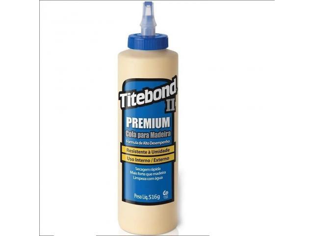 Cola Titebond 2 Premium Glue 516g - Marceneiro, Luthier, Trabalhos em Madeira etc - 1/4