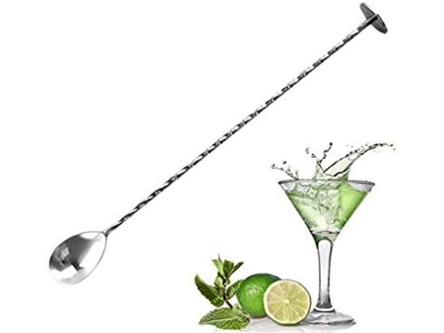 Colher Bailarina Inox para Bebidas Drinks Coquetel Barman etc - 1/3