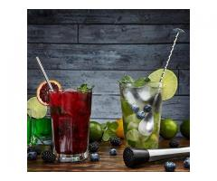 Colher Bailarina Inox para Bebidas Drinks Coquetel Barman etc