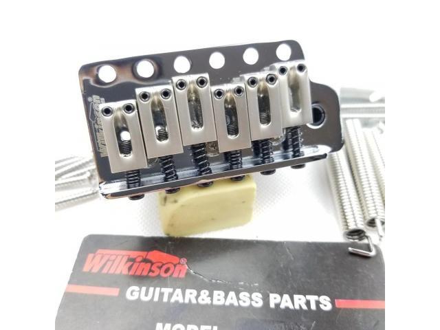 Ponte Tremolo WOV02 Wilkinson Stratocaster Bloco Grande - 1/6