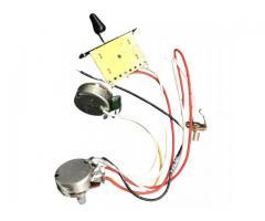 Kit Elétrica P/ Guitarra Telecaster Reparo Chave 3 Posições 1 Volume 1 Tone 500k - Imagem 4/6
