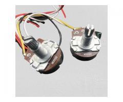 Kit Elétrica P/ Guitarra Telecaster Reparo Chave 3 Posições 1 Volume 1 Tone 500k - Imagem 5/6