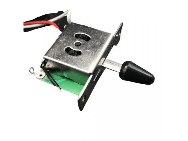Kit Elétrica P/ Guitarra Telecaster Reparo Chave 3 Posições 1 Volume 1 Tone 500k - 6/6