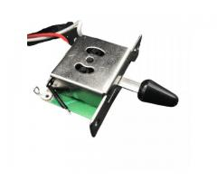 Kit Elétrica P/ Guitarra Telecaster Reparo Chave 3 Posições 1 Volume 1 Tone 500k - Imagem 6/6
