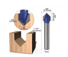 Fresa V Cabeça Flecha CNC - Unidade