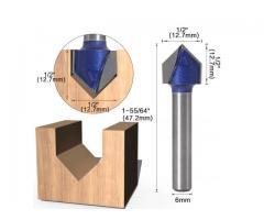 Fresa V Cabeça Flecha CNC - Unidade - Imagem 4/6