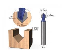 Fresa V Cabeça Flecha CNC - Unidade - Imagem 6/6
