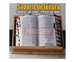 Suporte de Leitura Livros Vade Mecum Madeira