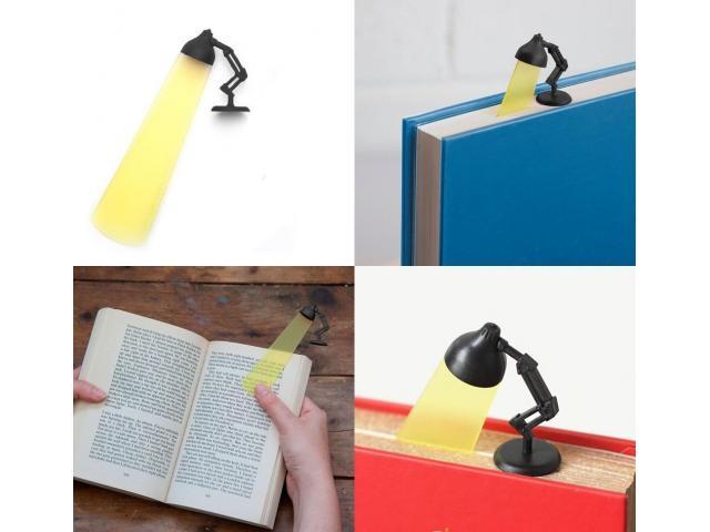 Marcador de Página Estilo Luminária - Estudos Estudante Leitura Marca Página - 1/5