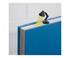 Marcador de Página Estilo Luminária - Estudos Estudante Leitura Marca Página - Imagem 4/5