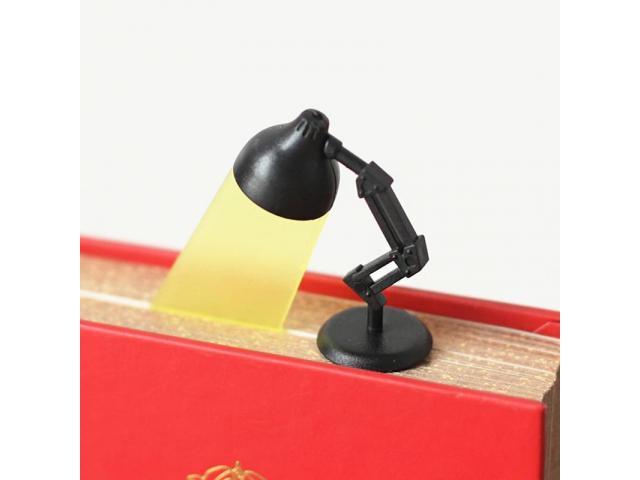 Marcador de Página Estilo Luminária - Estudos Estudante Leitura Marca Página - 5/5